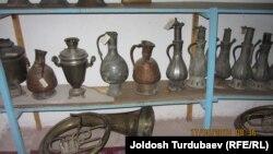 Хамит Боронов негиздеген музейдеги экспонаттар.