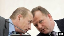 Vladimir Putin və Marius Vizer