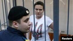 Українська льотчиця Надія Савченко