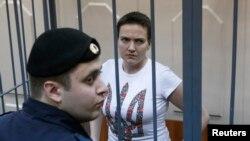 Надія Савченко на суді в Москві, архівне фото