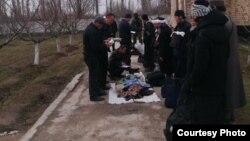 Инкарцы в Баткенской области после задержания. Иллюстративное фото.