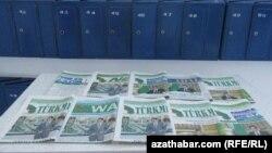 Türkmenistanda çap edilýän milli neşirler