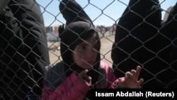 Most of the Tajik refugees are in the Al-Hol camp located in northeastern Syria. (file photo)