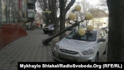 Наслідки негоди в Одесі, 24 лютого 2020 року