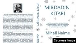 """Mihail Naimenin """"Nərmin Yayın Evi""""ndən çıxan """"Mirdadın kitabı""""nın üz qabığı."""