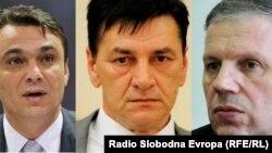 Sadik Ahmetović, Fuad Kasumović i Muhamed Ibrahimović