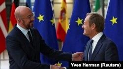Дональд Туск передав свої повноваження новообраному очільнику Європейської ради бельгійцю Шарлю Мішелю