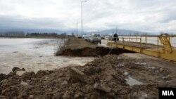 Поплави во Пелагонија во февруари годинава.