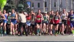 У Харкові бігли марафон спортсмени з 25 країн (відео)
