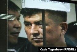 """Один из фигурантов """"Хоргосского дела"""". Алматы, 12 апреля 2014 года."""