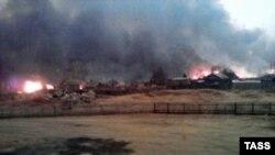 Амурская область, поселок Тыгда, 20 апреля 2012