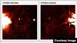 Скриншот сайта Solar Stormwatch