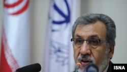 محمودرضا خاوری، مدیر بانک ملی ایران، که به گزارش منابع خبری ایران از سمت خود استعفا کرده است.