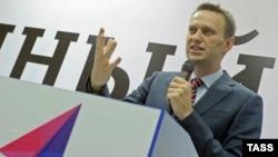 Ресейлік блогер Алексей Навальный. Мәскеу, 15 желтоқсан 2012 жыл.