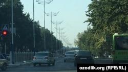С улиц в Ташкенте убраны все флаги. Накануне в Узбекистане отмечали 25-летие независимости страны.