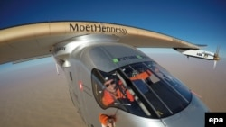 Solar Impulse 2 учагы.