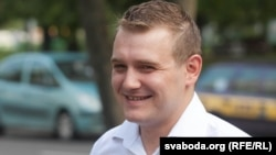 Belarusian opposition activist Uladzimer Yaromenak