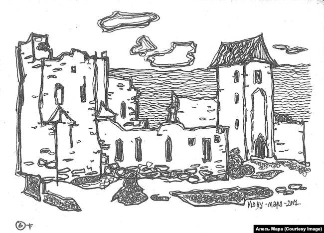 Старыя кварталы Вісбю