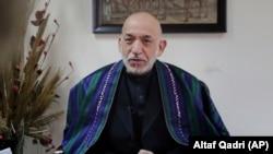 حامد کرزی رئیس جمهور پیشین افغانستان