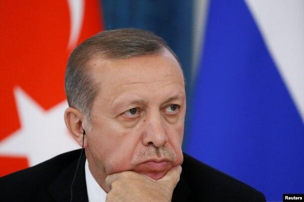 Реджеп Эрдоган во время последнего визита в Москву. 9 августа