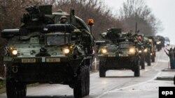 ABŞ ordusu Çexiyada