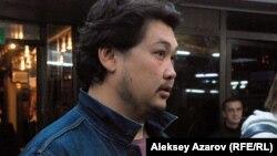 Фильмнің продюсері Асқар Ұзабаев. Алматы, 6 қазан 2015 жыл.