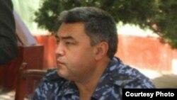 Начальник УВД Кашкадарьинской области Дилшод Турсунбаев.
