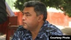 Қашқадарё вилояти ИИБ бошлиғи Дилшод Турсунбоев