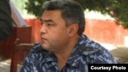 Қашқадарё вилоят ИИБ бошлиғи Дилшод Турсунбоев.