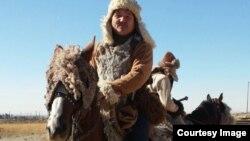 Снимающиеся в иранском сериале этнические казахи, играющие роль монгольских воинов.