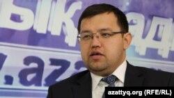 Олжас Худайбергенов, директор Центра макроэкономических исследований. Алматы, 5 марта 2015 года.