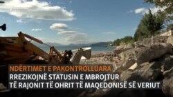 Ndërtimet pa leje mund ta lënë Ohrin jashtë UNESCO-s