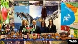 """""""აფხაზეთის"""" სტენდი ბარსელონაში, Alimentaria 2018-ზე"""