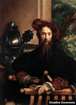 Франческо Пармиджанино. Портрет военного. 1530-е?