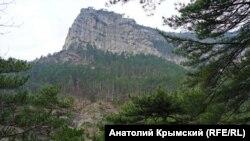 Крымские горы, иллюстрационное фото