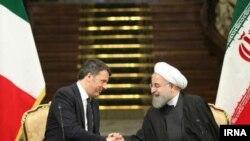 حسن روحانی ابراز امیدواری کرده که ایتالیا بار دیگر به عنوان بزرگترین شریك تجاری ایران در اتحادیه اروپا بدل شود.