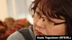 Оппозициялық Nakanune.kz сайтының редакторы Гузяль Байдалинова