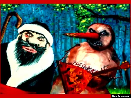 Кадр из видеоролика 'Химкинский лес'