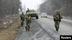 Inguşeţia, patrulă a ministerului de interne pe şoseaua dintre oraşele Malgobek şi Nazran.