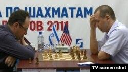 Борис Гельфанд (Израил) һәм Гата Камский (АКШ), беренче партия