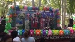 Tash celebrations in the park
