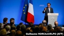 Францускиот претседател Франсоа Оланд, Франција, 19.11.2016.