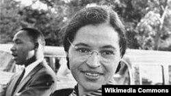 Rosa Parks - fotografija iz arhive