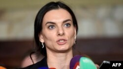 Yelena Isinbayeva, former champion pole vaulter and head of Russia's anti-doping agency