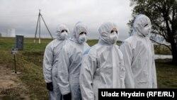 Першыя вучэньні на Беларускай АЭС у Астравецкім раёне, ілюстрацыйнае фота