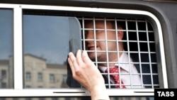 Гей-активист Николай Алексеев задержан российской полицией (архивное фото, 2013 год)