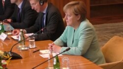 Merkel Wraps Up Balkan Tour