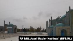 آرشیف، روضه منسوب به حضرت علی در مزار شریف