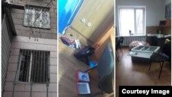 Офис «ПолитКлиники» после ограбления.