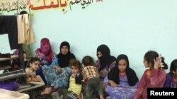 Беженцы в Рамади, Ирак. 11 апреля 2015 года.